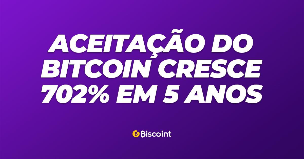 Aceitação de Bitcoin - Biscoint