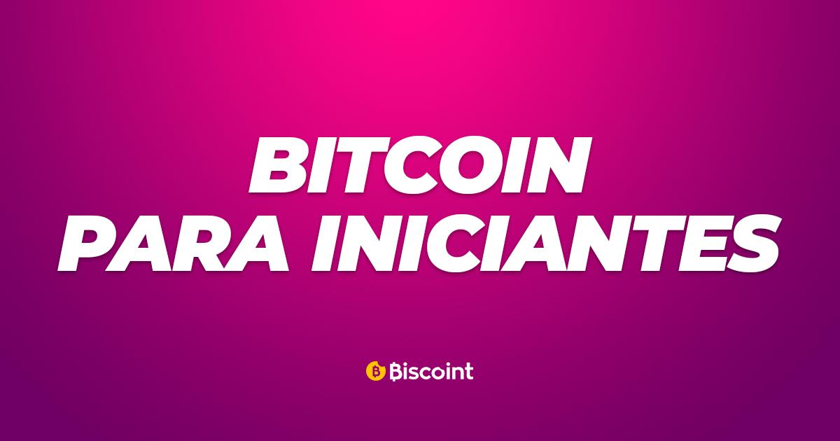 Bitcoin para iniciantes